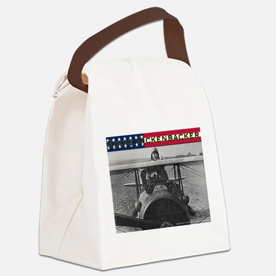Eddie Rickenbacker-4 Canvas Lunch Bag