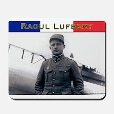 Raoul Lufbery-fr Mousepad