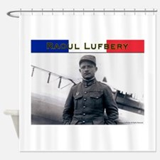Raoul Lufbery-fr Shower Curtain