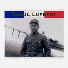 Raoul Lufbery-fr Throw Blanket