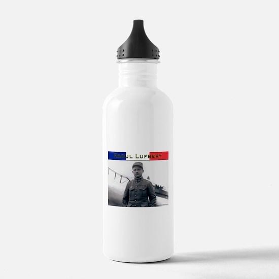 Raoul Lufbery-fr Water Bottle