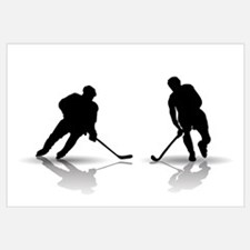 Hockey Players Silouettes