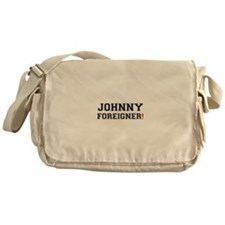 JOHNNY FOREIGNER! Messenger Bag