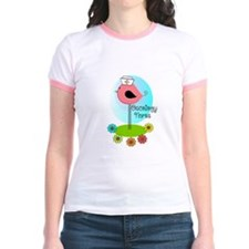 RN ff bird ONCOLOGY NURSE T-Shirt