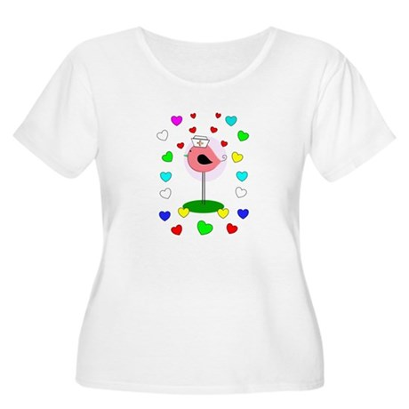 RN ff bird 7 Plus Size T-Shirt