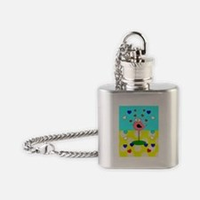 RN ff bird 6 Flask Necklace