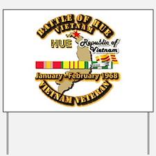 XXIV Corps Yard Sign