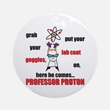 Professor Proton Ornament (Round)