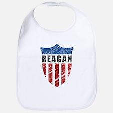 Reagan Patriot Shield Bib