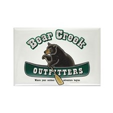 Bear Creek Outfitters Rectangle Magnet