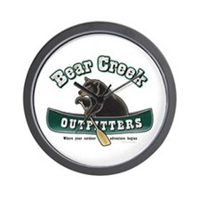 Bear Creek Outfitters Wall Clock