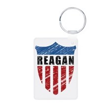 Reagan Patriot Shield Keychains