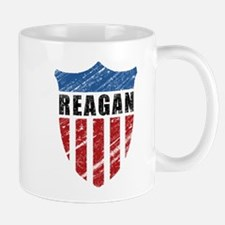 Reagan Patriot Shield Mug