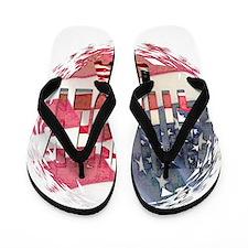 4th july Flip Flops