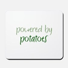 Powered By potatoes Mousepad