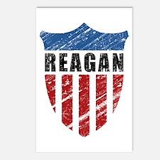 Reagan Patriot Shield Postcards (Package of 8)