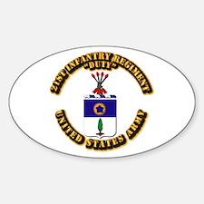 COA - Infantry - 21st Infantry Regiment Decal