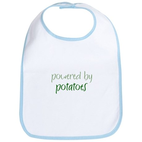 Powered By potatoes Bib