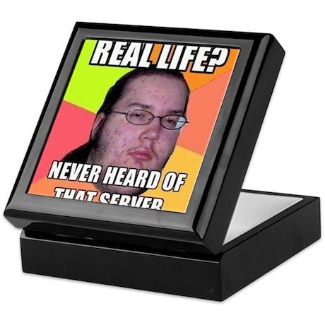 Gamer MEME Keepsake Box