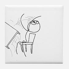 Angry MEME Tile Coaster