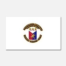 COA - Infantry - 1st Filipino Regiment Car Magnet