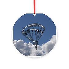 Sky Diver Ornament (Round)