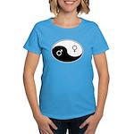 """Yin Yang / Male Female"" Women's Dark T-Shirt"