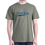Team Gay Blue Dark T-Shirt