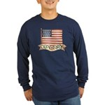 Old Glory Long Sleeve Dark T-Shirt