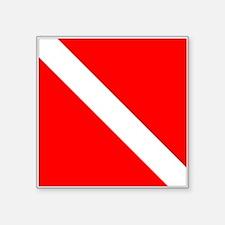 Dive Flag 1 Sticker
