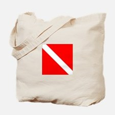 Dive Flag 1 Tote Bag