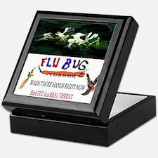 2013 Bird Flu Outbreak Keepsake Box