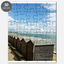 Isle of Wight Beach Huts Puzzle
