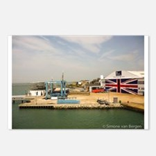 Isle of Wight Union Jack Doors Postcards (Package