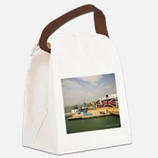 Isle of Wight Union Jack Doors Canvas Lunch Bag