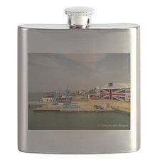 Isle of Wight Union Jack Doors Flask