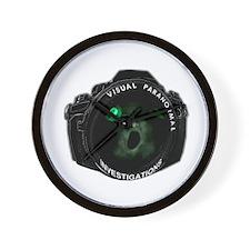 visual paranormal investigations Wall Clock