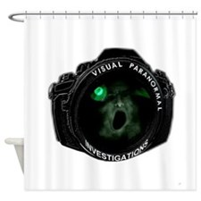 visual paranormal investigations Shower Curtain