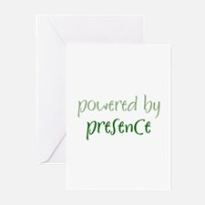 Powered By presence Greeting Cards (Pk of 10)