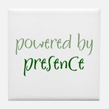 Powered By presence Tile Coaster