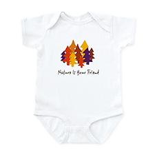 'Nature Is Your Friend' Infant Bodysuit