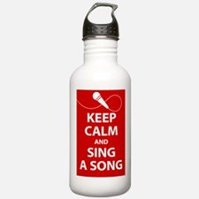 Keep calm and sing a song. Carry a tune. Water Bot