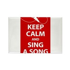 Keep calm and sing a song. Carry a tune. Rectangle