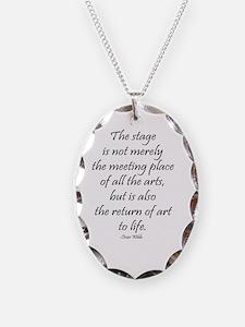 Oscar Wilde Necklace