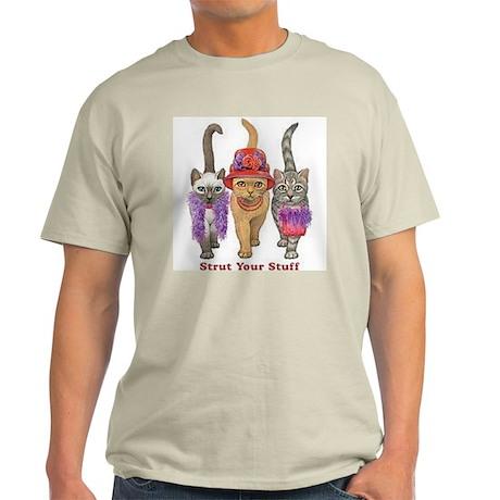 Strut Your Stuff Ash Grey T-Shirt
