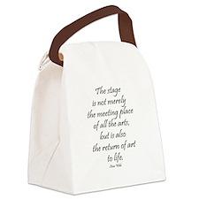 Oscar Wilde Canvas Lunch Bag