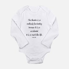 Arthur Miller Long Sleeve Infant Bodysuit