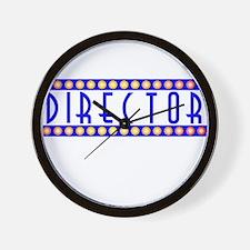 Director Wall Clock