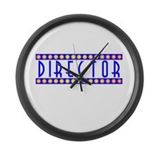 Director Large Wall Clock