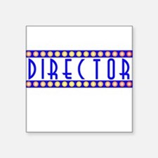 "Director Square Sticker 3"" x 3"""